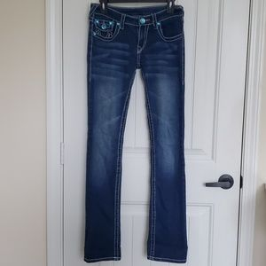 True Religion Bejeweled jeans Size 27